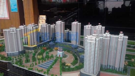 鼓楼上城商业实景图
