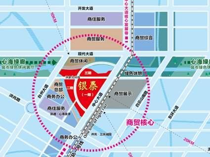 台州银泰城位置图