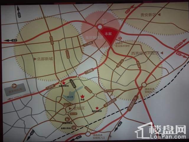 豪德安顺国际商贸城位置图