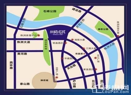 尚格·香堤漫步位置图