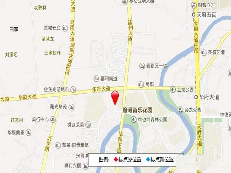 嘉祥瑞庭南城位置图