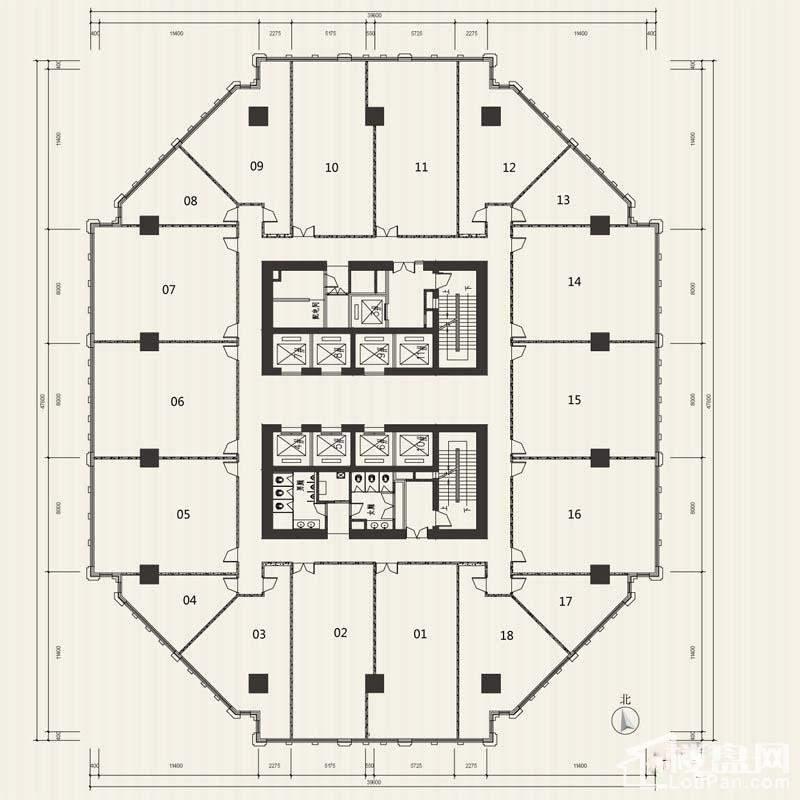 天津科技金融大厦户型图