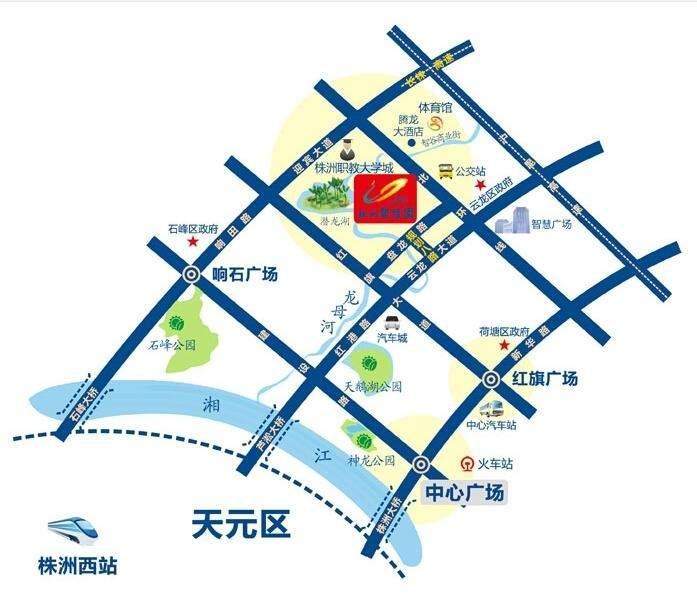 株洲碧桂园位置图