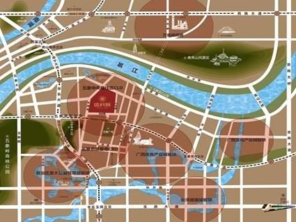 盛科城位置图