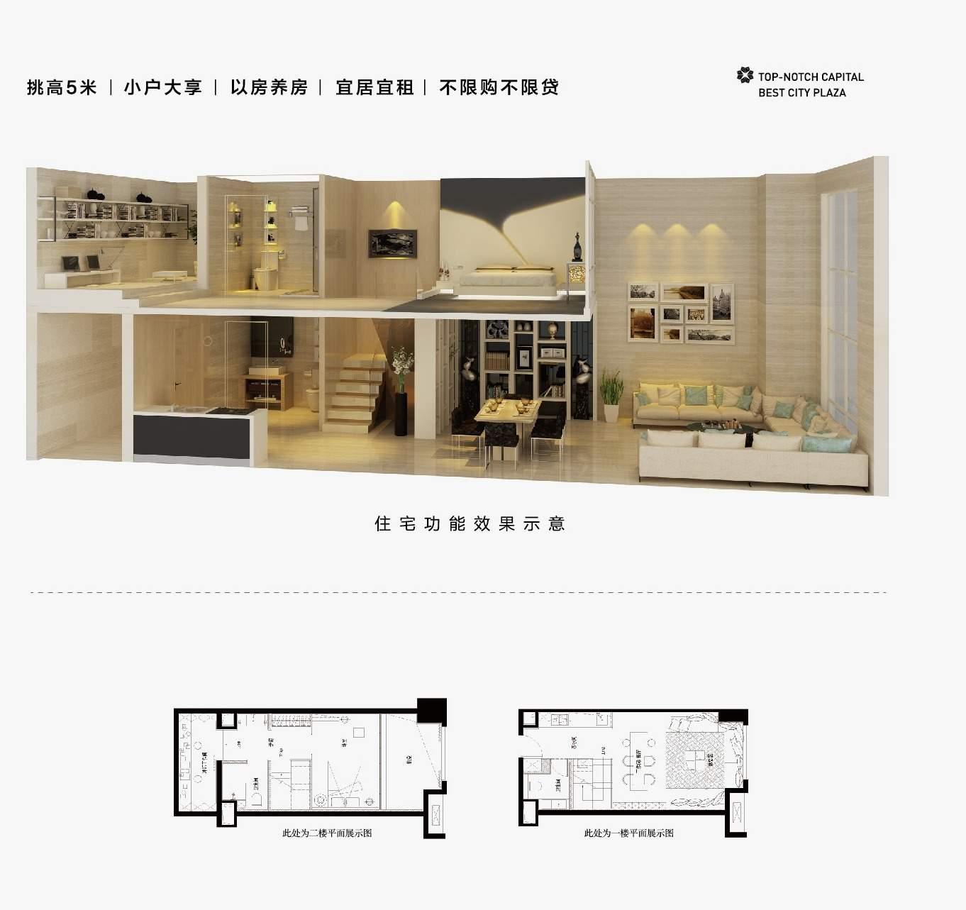SOHO住宅户型图