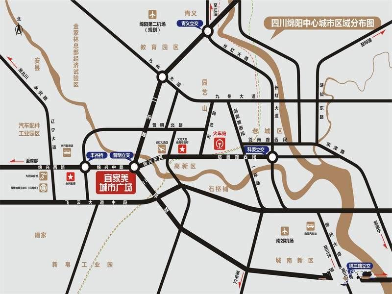 宜家美城市广场位置图