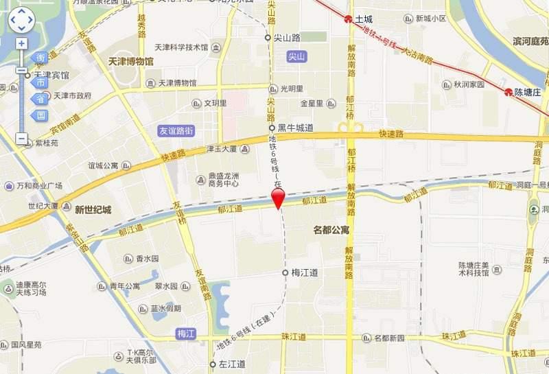 富华梅江公馆位置图