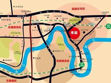邕江湾二期位置图