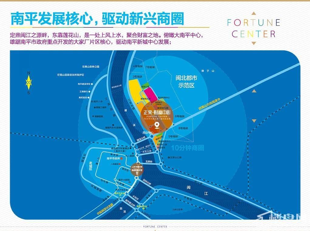 南平正荣财富中心位置图