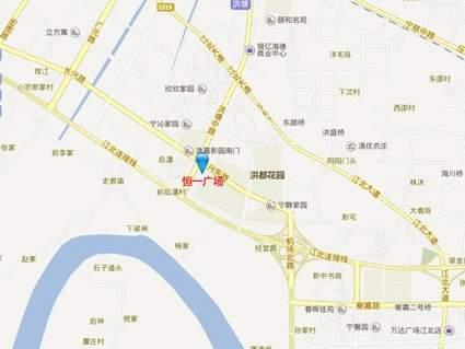 江北恒一广场位置图
