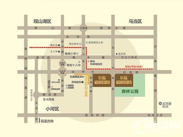 东泓富源国际位置图