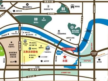 天誉花园位置图