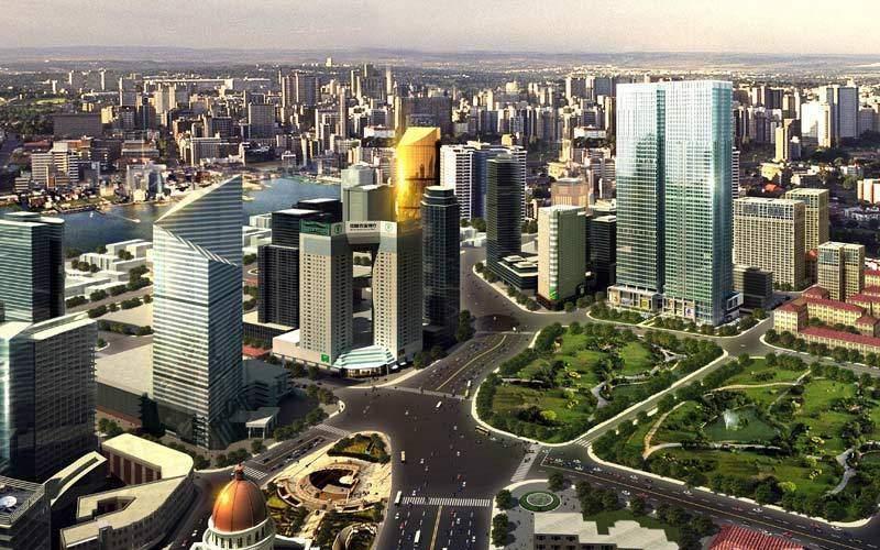天津富力中心商铺效果图