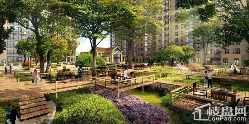 欧式园林立体景观:实用舒适的内庭景观