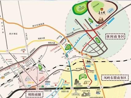 嘉和城位置图