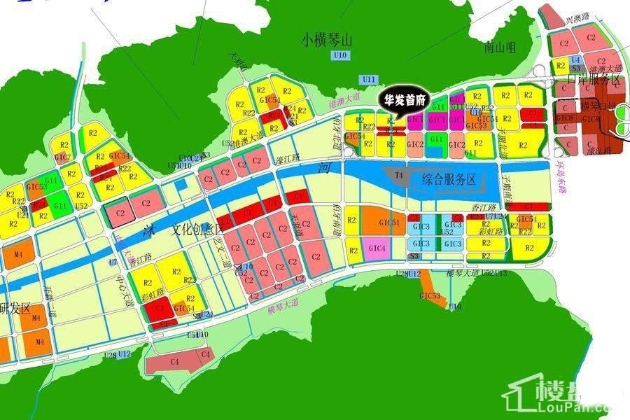 华发首府位置图