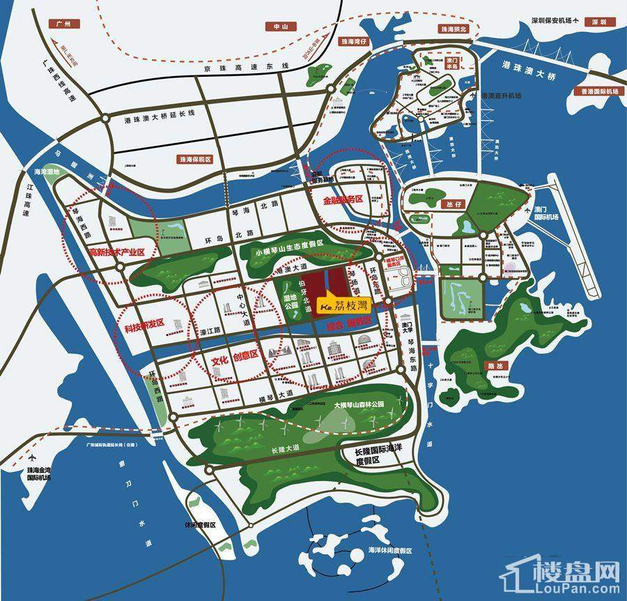 K2·荔枝湾位置图