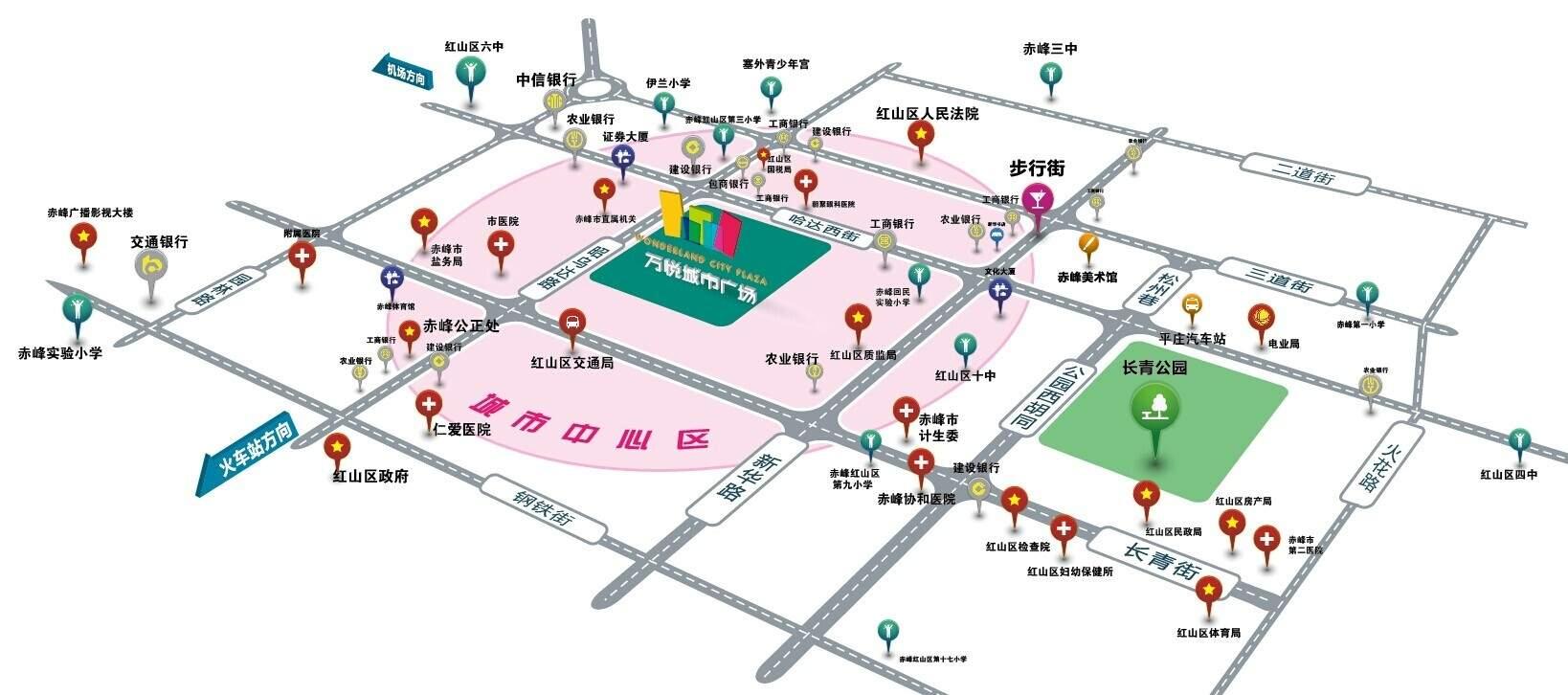 万悦城市广场位置图