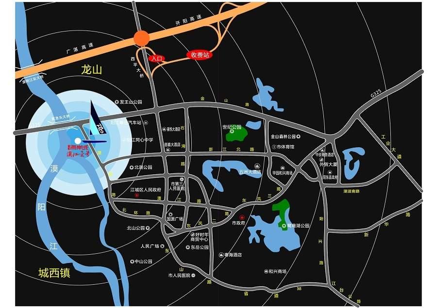 富和海岸城3期漠江壹号位置图