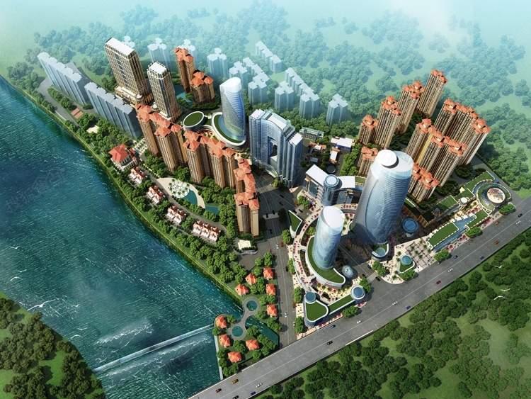 滨江国际城效果图