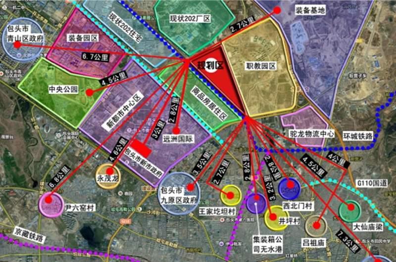 中慧新城位置图