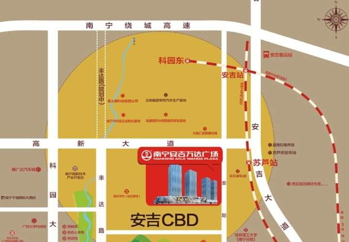 安吉万达广场位置图