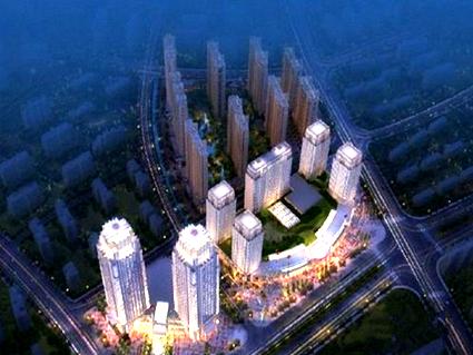 晋江高铁城效果图