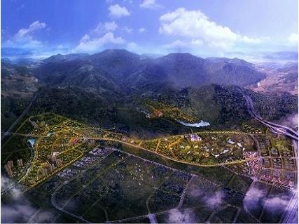 世茂紫帽山项目效果图