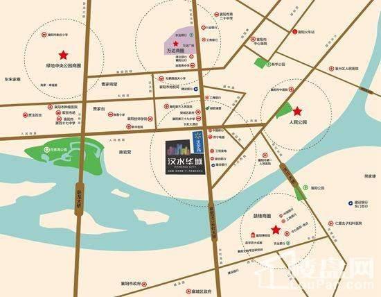 汉水华城位置图