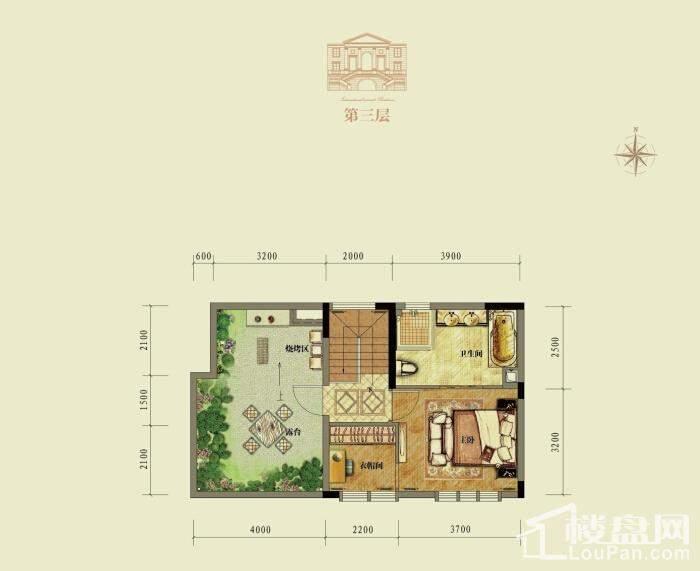 中国铁建涪陵山语城户型图