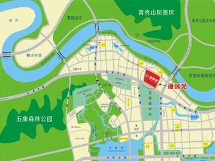 港保苑位置图