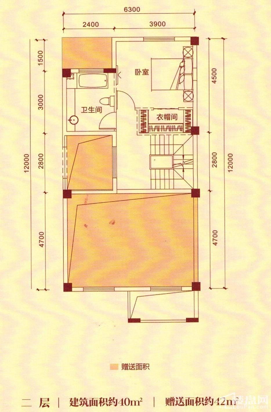 G1二层户型