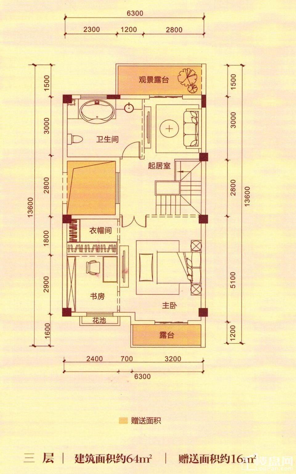 G1三层户型