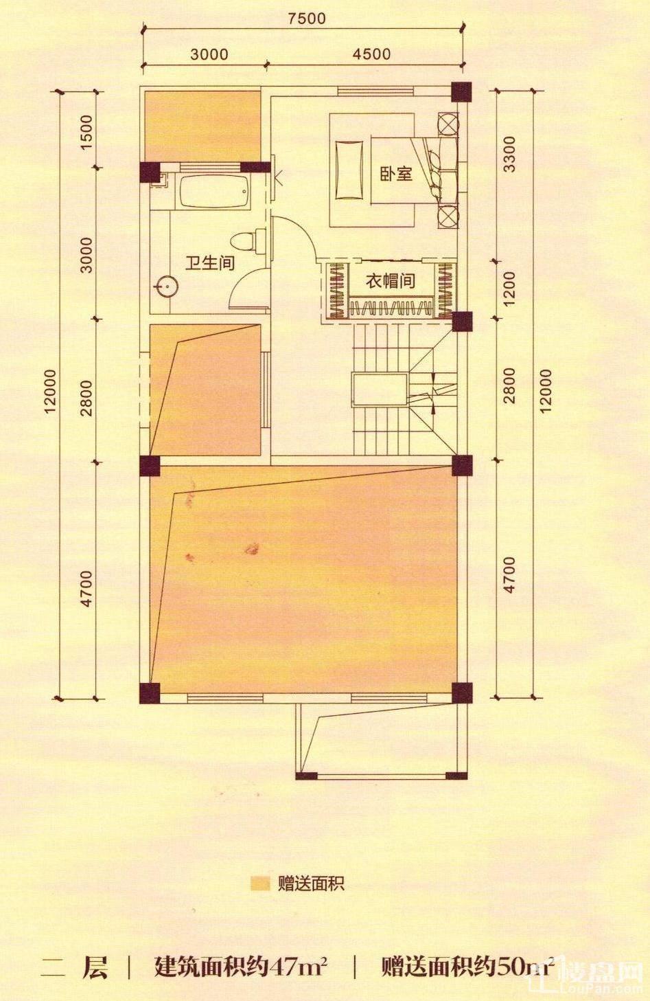 H1二层户型