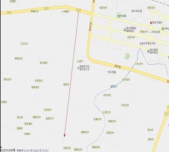 中湖美景位置图