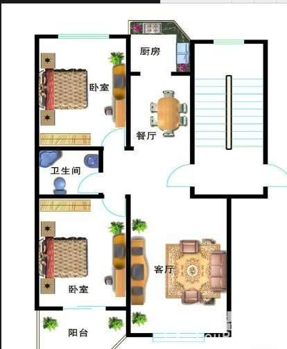 中湖美景户型图