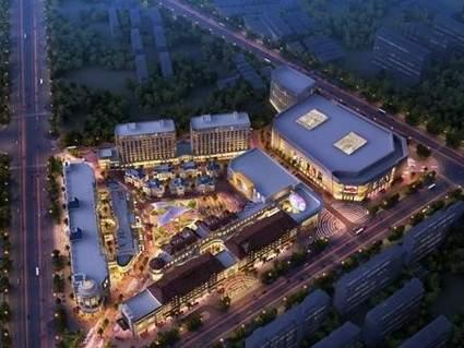 晋江和平国际广场效果图