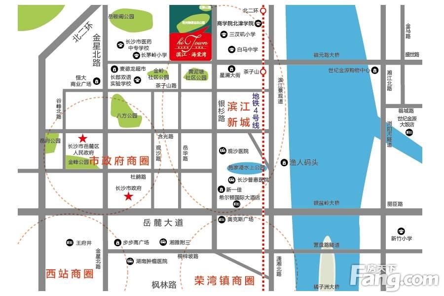 滨江海棠湾位置图