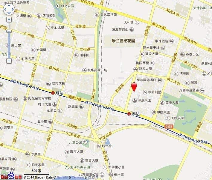 格调林泉位置图