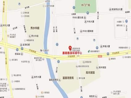 嘉丽慈溪环球中心位置图