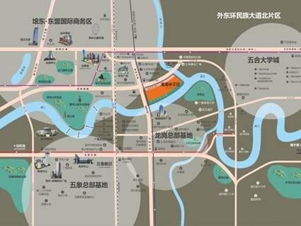 龍胤花园位置图