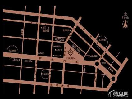 正翔国际·悦嘉公寓位置图