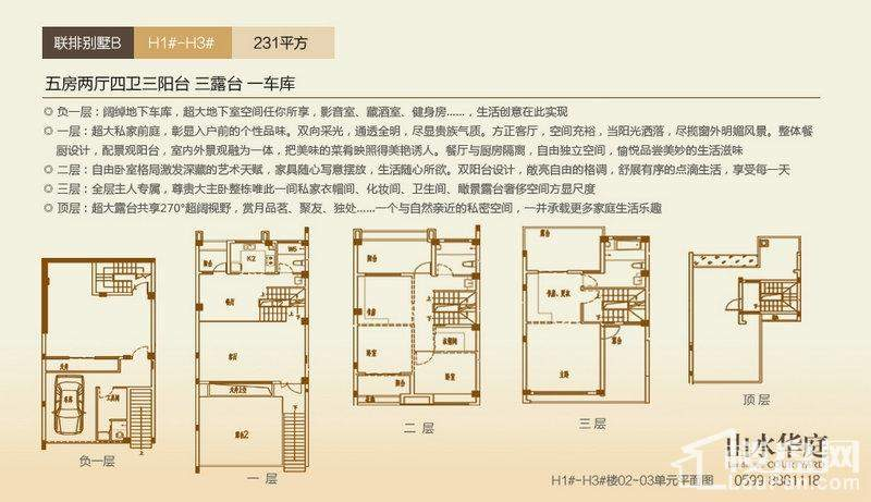 别墅H1-H3