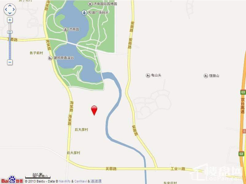 中建长清湖电子地图