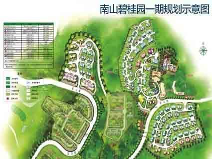 南山碧桂园位置图