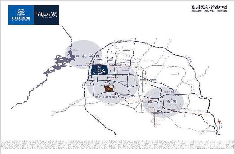 中铁阅山湖位置图