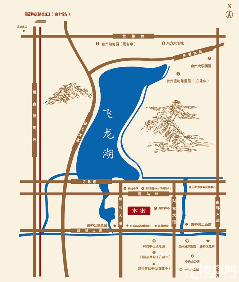 龙湖丽景位置图