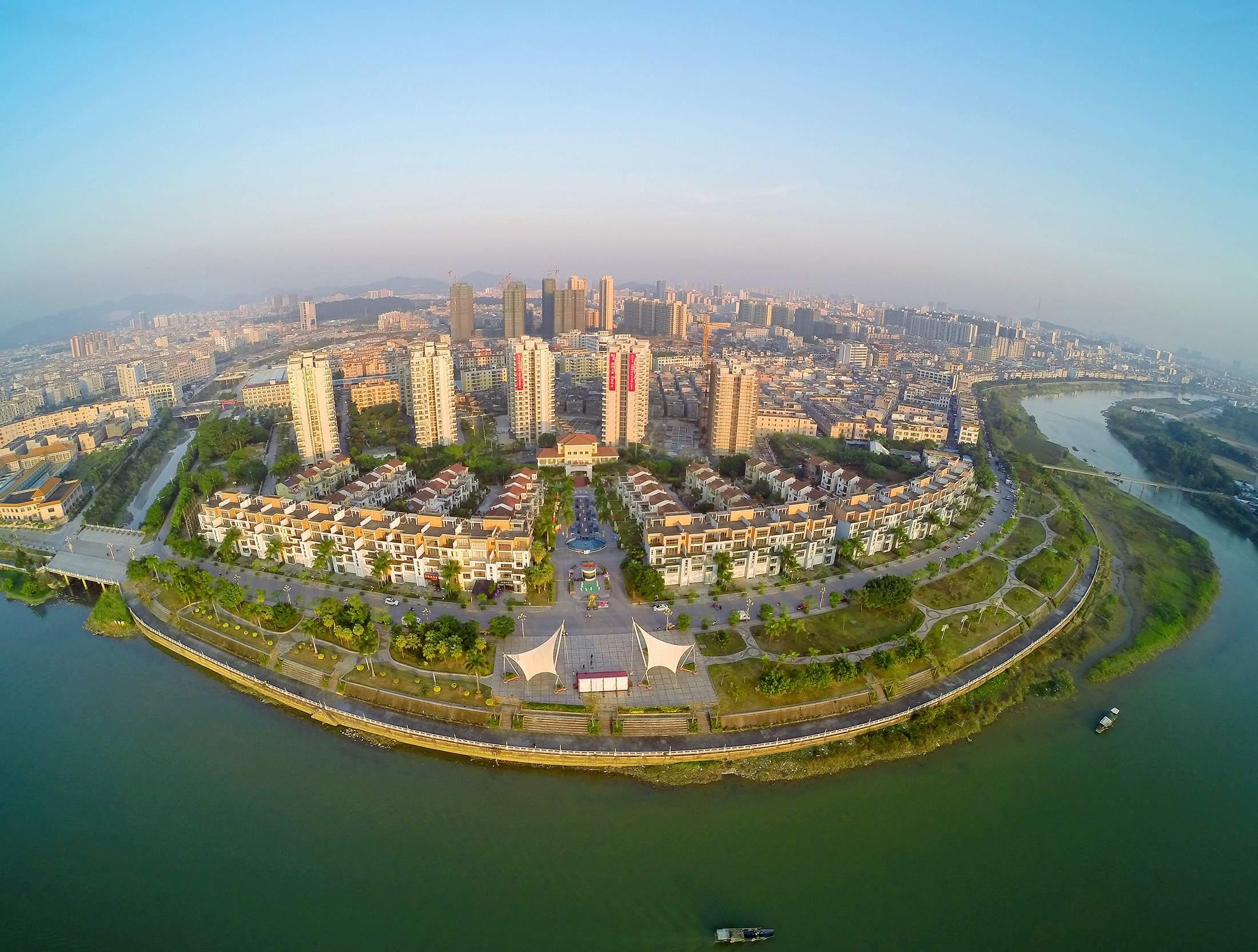 富和海岸城3期漠江壹号实景图