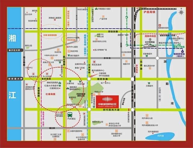 中航城国际社区位置图