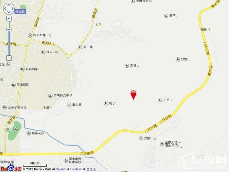 济南华润城·仰山 区位图